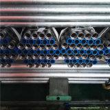 Tubo galvanizado roscado del En 39 de las BS con los casquillos y el acoplador plásticos