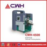 Maquinaria de perfuração automática da marcação do livro de exercício Cwh-4500 para o caderno