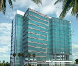 Niedriges e-Glashandelsglas für Fassade-Aufbau