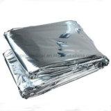 金または銀の救急処置の緊急のマイラー毛布