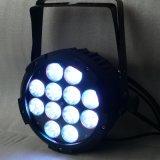 12X15W Rgbwauv 6in1 IP65 imperméabilisent la lumière de PARITÉ de DEL pour extérieur