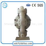 Bomba de diafragma diferente do ar do material plástico do tamanho para industrial químico