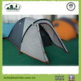 2p Pole-kampierendes Zelt der doppelten Schicht-3 mit Extension