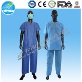 PP / SMS vestido Paciente desechable / SMMS