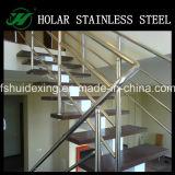 Pasamanos portables de la escalera del acero inoxidable