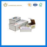 Caixas de envio pelo correio impressas costume do cartão ondulado de cor cheia (estilo da caixa da aleta)