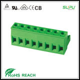 тип блок винта тангажа 3.5/3.81mm разъём-розетка терминальный