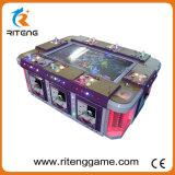 Máquina do casino do caçador dos peixes da habilidade dos jogadores da tabela 8 dos peixes da legenda do oceano