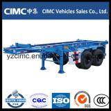 Cimc 3販売のための車軸40ton骨組みトレーラー