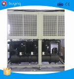 ar industrial fábrica de refrigeração do refrigerador de água 120kw para a cervejaria