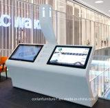 공항과 공공 장소를 위한 화면 장치
