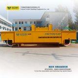carretilla grande eléctrica de la transferencia del carril de China del vector 200t para las cucharas