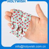Le transfert thermique de tissu en gros a estampé la bande élastique nouée pour le cheveu