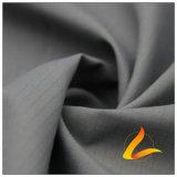 agua de 50d 290t y de la manera de la chaqueta tela catiónica tejida chaqueta Viento-Resistente 100% del filamento del hilado del poliester rayado del telar jacquar abajo (X024B)