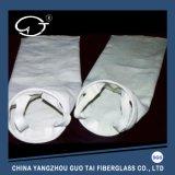 Bolso no tejido de la tela del filtro de aire de los hilados de polyester con Fiberfill amarillo