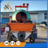 Mezclador Self-Loading con la bomba concreta diesel
