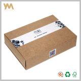 Rectángulo de regalo de empaquetado del cajón del papel de Kraft