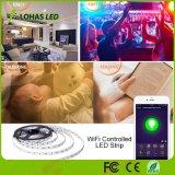 Smartphone controleerde RGB LEIDENE Lichte Uitrusting van de Strook