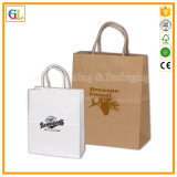 Sac en papier Luxry OEM en impression couleur et estampage d'or