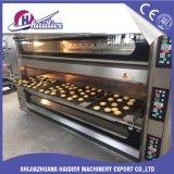 Horno de panadería eléctrico de la pizza de 3 bandejas de la cubierta 6 del gas de Commerical del equipo de la hornada con vapor