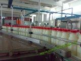 Hete het Vullen van de Was van de Drank (de Drank van het Jus d'orange/van de Melk/van de Energie) het Afdekken Monobloc Machine