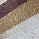 Cuoio del PVC di disegno del foglio per la decorazione della parete