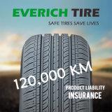 Neumático largo 185/65r14 195/65r15 del coche del kilometraje con seguro de responsabilidad por la fabricación de un producto