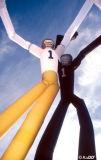 De opblaasbare Danser van de Lucht van de Hemel van de Mens van de Bouw