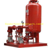 Feuerbekämpfung, die stabilisierende Pumpe mit Jockey-Pumpe auflädt