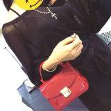 Senhora nova Bolsa do couro do ombro do saco da forma do desenhador de 2017 mulheres (9915)