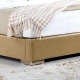 Bâti jaune de cuir de couleur pour l'usage de chambre à coucher (FB3071)