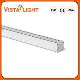 100-277V iluminação linear do escritório do diodo emissor de luz da luz do pendente de 110 graus