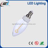 Ampola do diodo emissor de luz do filamento creativo de E12 E14 2W para a HOME