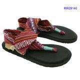 여자 샌들 숙녀 단화 신발 2017년 (RW29140)를 위한 최신 판매 여름 형식 슬리퍼