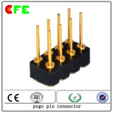 SMT Female 8pin Double Row Spring Pin Connector
