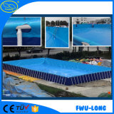 Kundenspezifischer vorbildlicher Vergnügungspark-Erwachsener scherzt aufblasbaren Swimmingpool