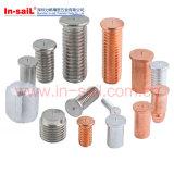 Parafusos de soldagem roscados de aço carbono ISO13918