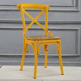 卸し売り販売のための高品質Xの十字の背部食事の椅子