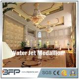 Diseño de pulido del medallón del suelo del mármol del jet de agua
