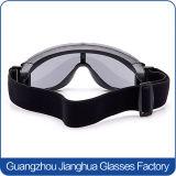 Preto da lente do PC de pano 2.0mm da luva de Camo que dispara em óculos de proteção militares