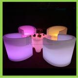 Resplandeciente de lujo LED de exterior Mobiliario Iluminado