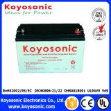 12V 80ah verzegelde Batterij van het Gel van het Lood de Zure voor het Systeem van Telecommunicatie