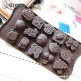 装飾的なデザインシリコーンチョコレート型の100つの密封された袋