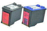 Cartouches d'encre noir et couleur refaites pour HP121 122