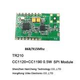 Cc1120 + PA 868m/915MHzのトランシーバのモジュールRFのモジュール