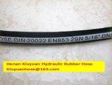 Umsponnener hydraulischer Schlauchleitung-flexibler Schlauch für En853-2sn-08