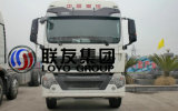 인도네시아에 있는 Sinotruk HOWO T5g 8X4 트랙터 트럭 최신 판매