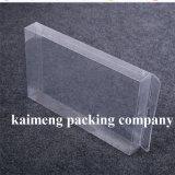 Diseño cosmético del plegado en abanico del PVC del claro plástico de la oferta de China (rectángulo cosmético del PVC)