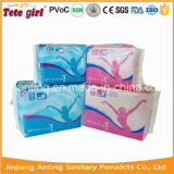 Servilletas sanitarias superficiales no tejidas suaves del algodón, señora Pads From Anting