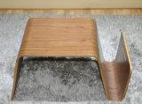 Tabela lateral de madeira da mesa de centro pequena de Tatami do estilo japonês